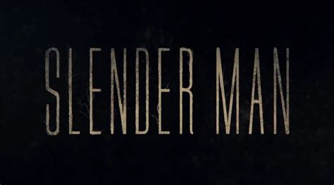Slender Man Movie Releases First Trailer