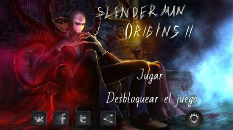 Slender Man Origins 2 Saga – Juegos para Android 2018 ...