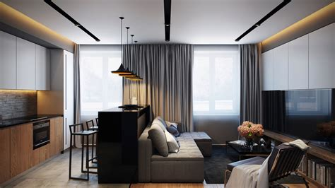 small-modern-apartment   Interior Design Ideas.
