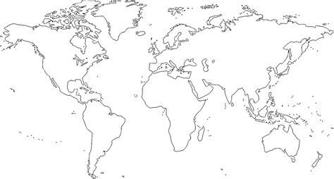 【Mapamundi para imprimir】???? | Mapas del mundo | Planisferios