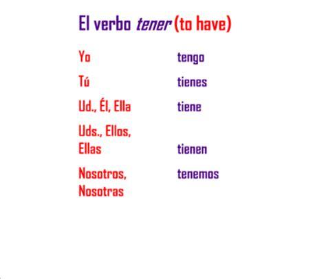 SMART Exchange - USA - El verbo tener