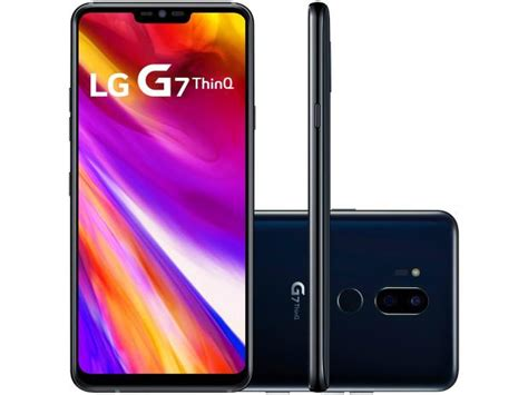 Smartphone LG G7 ThinQ 64GB Preto 4G Octa Core   4GB RAM ...