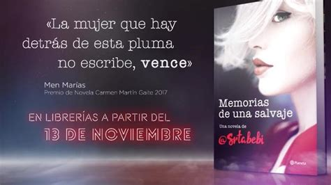 'Memorias de una salvaje', la esperada primera novela de ...