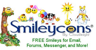 Smileycons Free Smileys, Emoticons, and Animations For ...