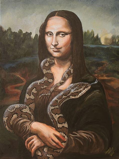 Snakes Take Over The Most Famous Paintings in The History ...