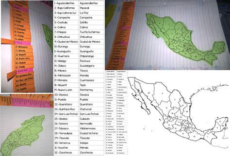 Snap Los Estados y Capitales de México Ciclo Escolar ...