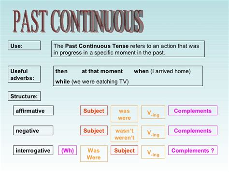 İngilizce Past Continuous Tense konu anlatımı