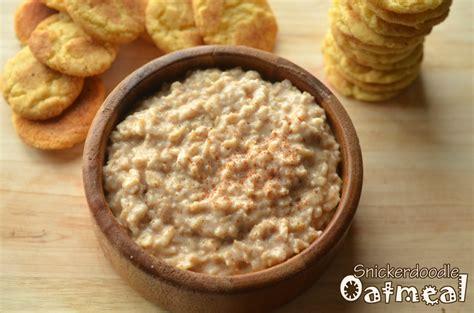 Snickerdoodle Oatmeal Breakfast | Healthy Ideas for Kids