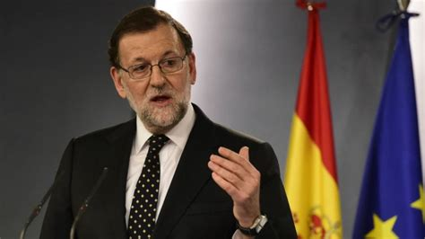"""""""No impunity for corrupt in Spain"""" – Rajoy - The Leader ..."""