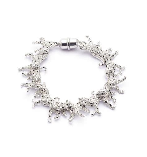 Snow Leopard Running Bracelet   Fashion Jewellery