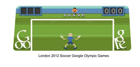 Soccer Google Olympic Game