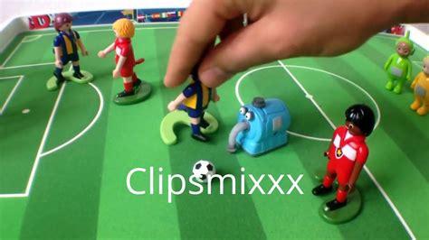 soccer playmobil   YouTube