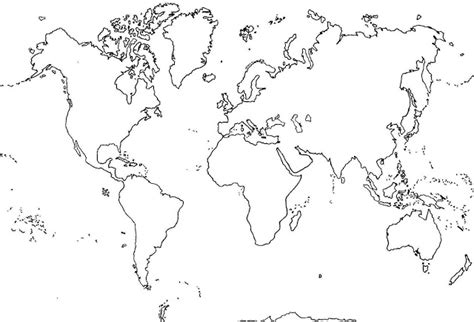 sociales por la web: Planisferio para 6º C