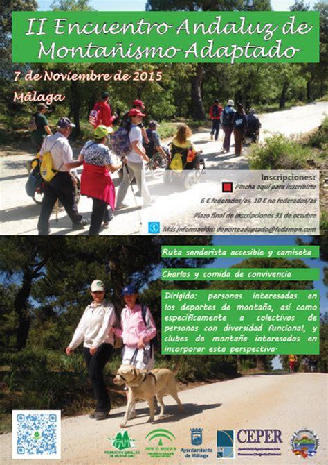 Sociedad Excursionista de Malaga: II Encuentro Andaluz de ...