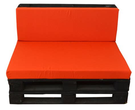 Sofa con Palets de Color Negro 80 x 120 Ref.SPN80120
