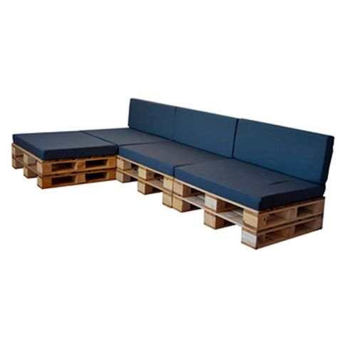 Sofá de Palets Chaise Longue para terrazas   DECOPALE.COM