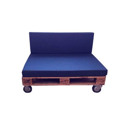 Sofá de Palets con Ruedas para Terrazas | DECOPALE.COM