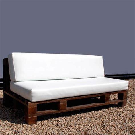Sofá de Palets Wengué para exteriores | DECOPALE.COM