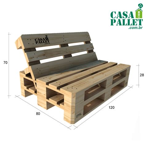 Sofá de Pallet Reclinado | CASA COM PALLET