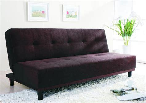 Sofas: Classy Modern Minimalist Black Color Cheap Sofa Bed ...