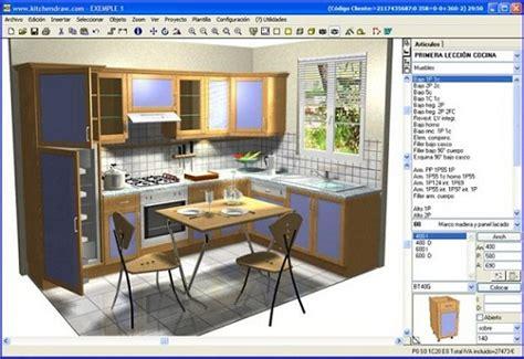 Softwar cad para diseñar cocinas a medida