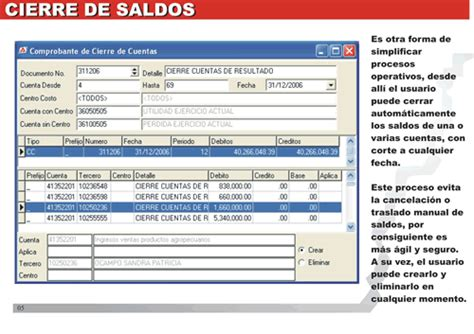 Software Contable :: Características