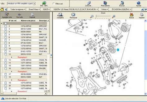 Software De Despiece Suzuki Grand Nomade 2005-2012, Oferta ...