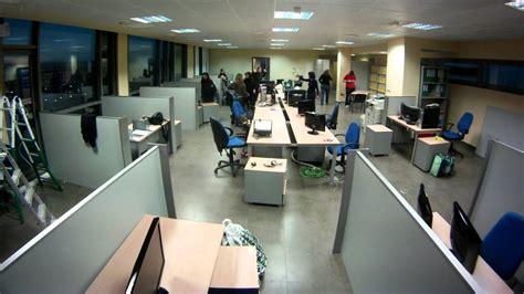 Software DELSOL traslada sus oficinas. Efecto Time lapse ...