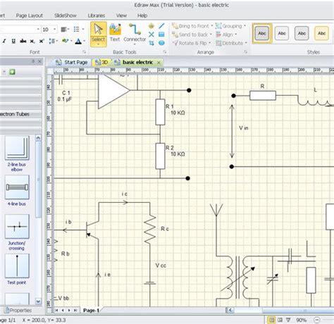 Software para hacer planos eléctricos online