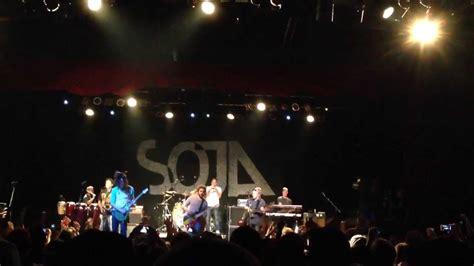 SOJA - Not Done Yet. Marquee Theatre. Tempe, AZ. 11/5/13 ...