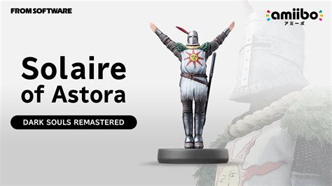 Solaire amiibo for Dark Souls to be sold only at GameStop.