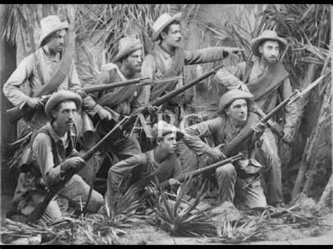 Soldados españoles de la Guerra de Cuba (1898) - YouTube ...