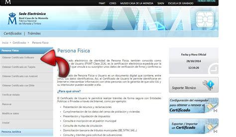 Solicitar el certificado digital  Guia cita previa