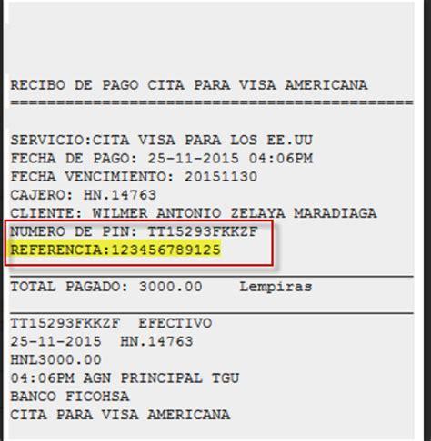 Solicitar una Visa para los EE.UU.  Opciones de Pago y de ...