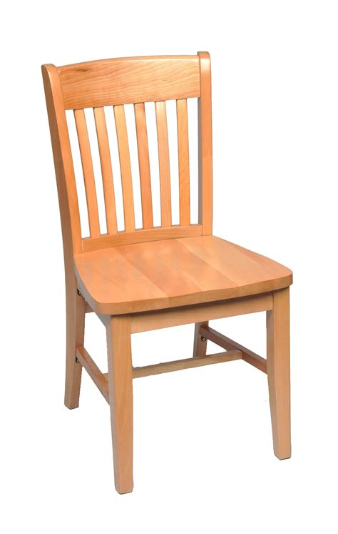 Solid Wood Dining Chair   schoolhouse solid wood dining ...