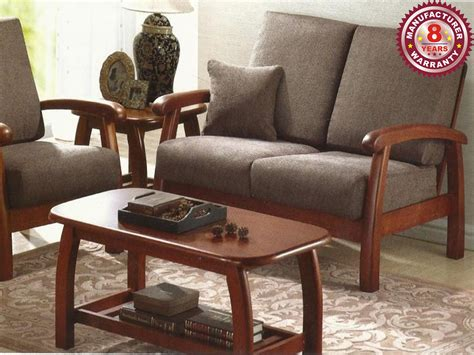 Solid Wood Sofa 13 Wooden Sofa Set Catalogue Price And ...