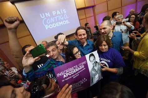 Solo el 37% de los inscritos de Podemos participa en la ...