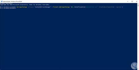 Solución error  contenido destacado de Windows  en ...