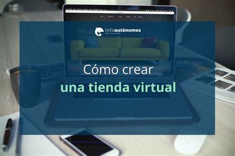 Soluciones para crear tu tienda virtual   Infoautónomos