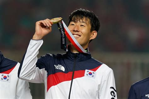 Son Heung-Min earns military exemption as Korea wins Asian ...