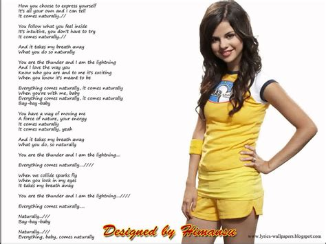 Song Quotes Selena Gomez. QuotesGram
