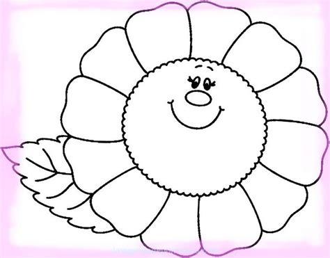 Sonrisas en Imágenes de Flores de Primavera para Colorear ...