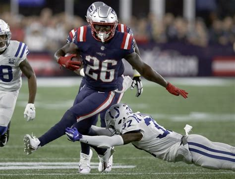 Sony Michel Active: New England Patriots running back ...