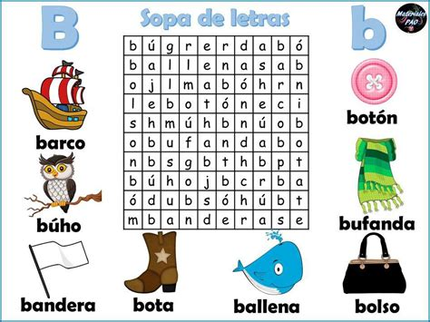 Sopa de letras del abecedario 002   Orientación Andújar ...