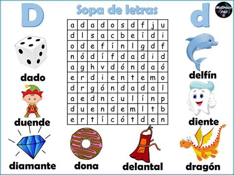 Sopa de letras del abecedario 004   Orientación Andújar ...