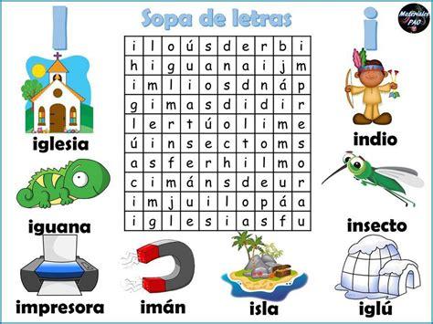 Sopa de letras del abecedario 009   Orientación Andújar ...
