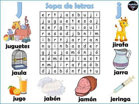 Sopa de letras del abecedario 010   Orientación Andújar ...