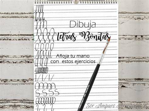 Sor Amparo Arredondo R.: Como DIBUJAR letras bonitas ...