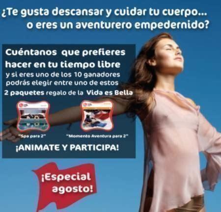 Sorteo de La Masía ¡gana paquetes La vida es bella ...