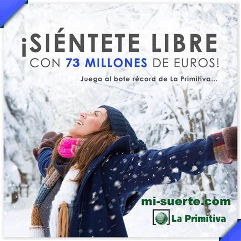 Sorteo De La Primitiva De Hoy Jueves 7 De Enero Del 2016 ...